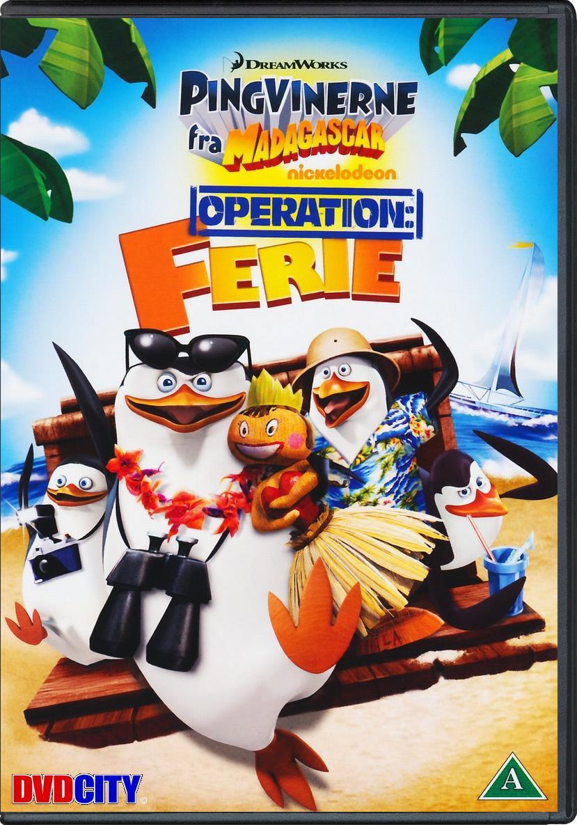 pingvinerne fra madagascar dvd