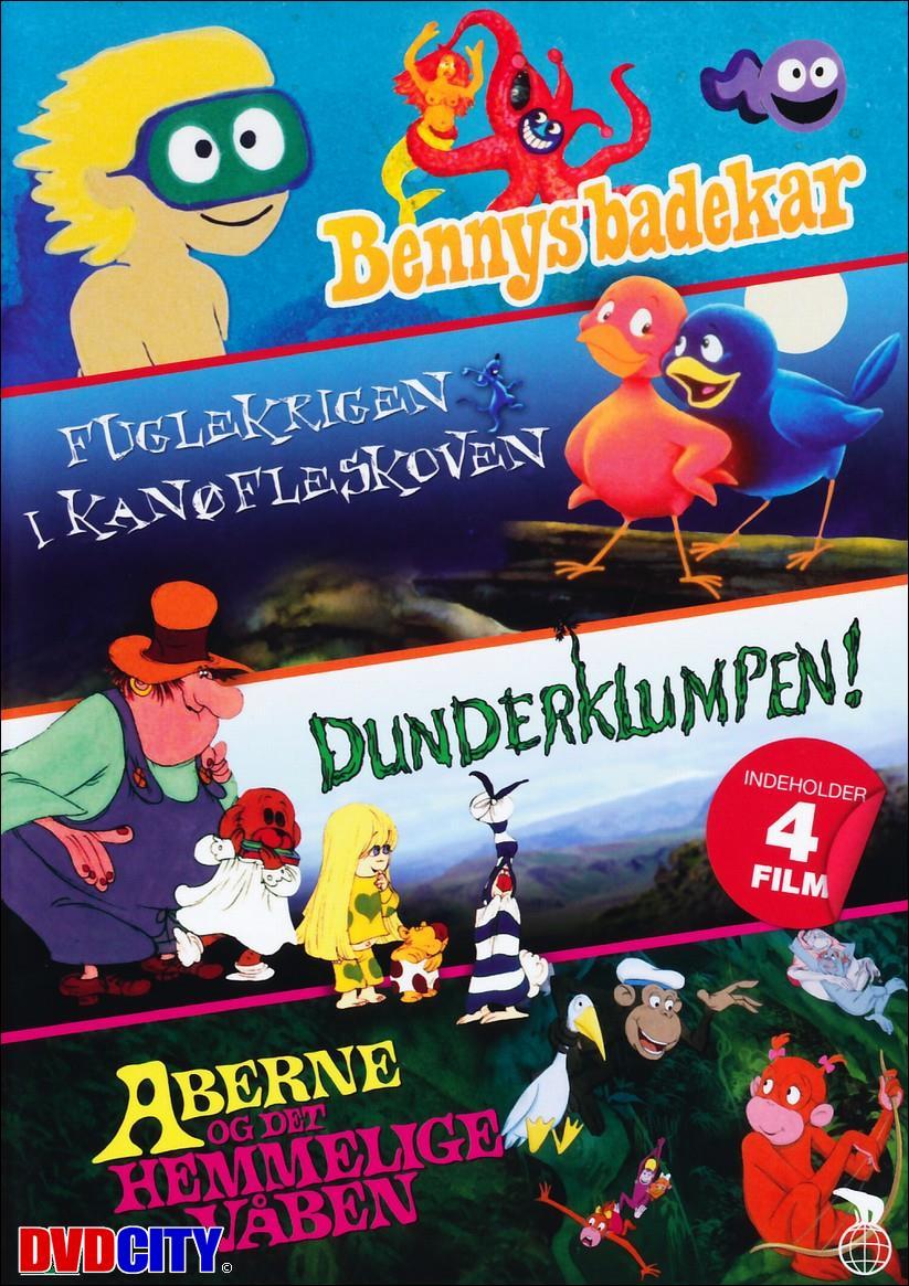 e67fa8afbe5 Bennys Badekar / Fuglekrigen I Kanøfleskoven / Dunderklumpen ...