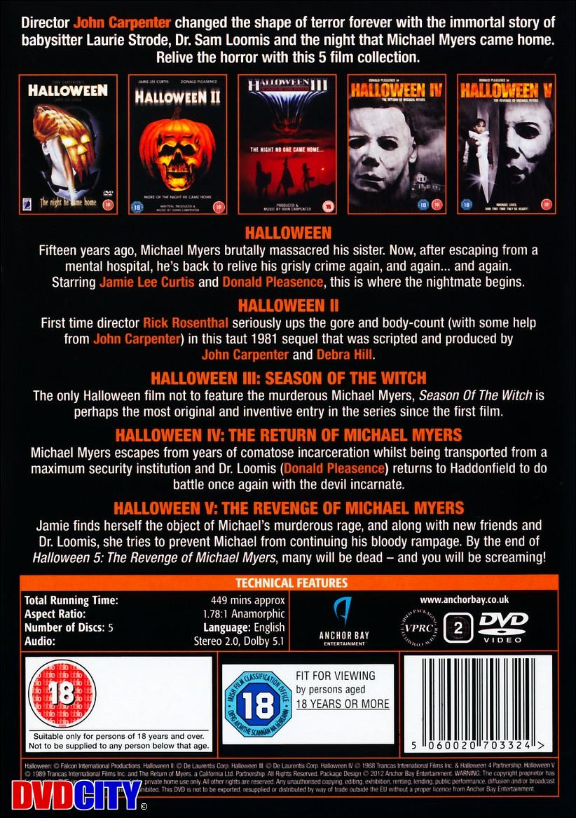 halloween collection 1-5 - videoland.dk